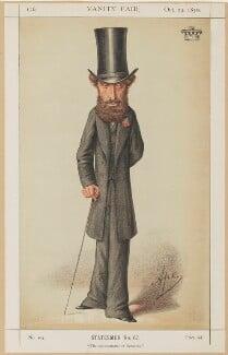 Edward George Earle Lytton Bulwer-Lytton, 1st Baron Lytton, by Carlo Pellegrini - NPG D1881