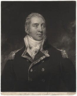 Edward Pellew, 1st Viscount Exmouth, by Charles Turner, after  Sir Thomas Lawrence - NPG D1893