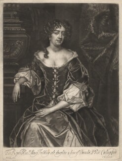 Mary Feilding (née Swift), by Isaac Beckett, after  Sir Peter Lely - NPG D1909