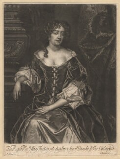 Mary Feilding (née Swift), by Isaac Beckett, after  Sir Peter Lely - NPG D1910