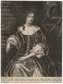 Mary Feilding (née Swift), by Isaac Beckett, after  Sir Peter Lely - NPG D1911