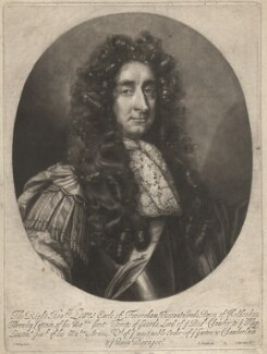 Louis Duras, 2nd Earl of Feversham, by Isaac Beckett, published by  John Smith, after  John Riley - NPG D1913