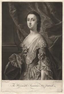 Susanna Fitzpatrick (née Usher), by James Macardell, after  Andrea Soldi, 1750s-1760s - NPG D1917 - © National Portrait Gallery, London