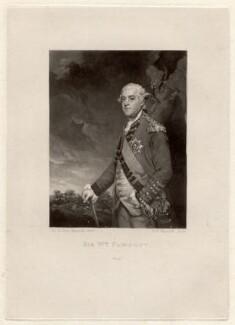 Sir William Fawcett, by Samuel William Reynolds, after  Sir Joshua Reynolds, published 1801 - NPG D1933 - © National Portrait Gallery, London