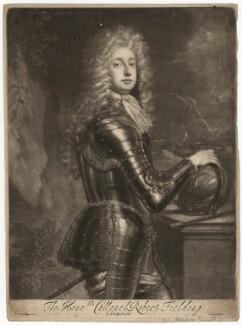 Robert ('Beau') Feilding, by Isaac Beckett, after  Sir Godfrey Kneller, Bt - NPG D1935
