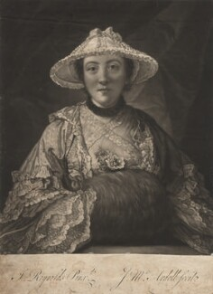 Anne (née Day), Lady Fenoulhet, by James Macardell, after  Sir Joshua Reynolds - NPG D1937
