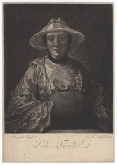 Anne Franks (née Day), Lady Fenoulhet, by James Macardell, after  Sir Joshua Reynolds - NPG D1938