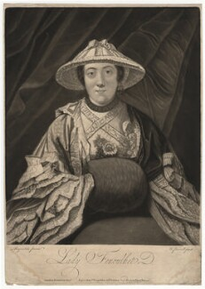 Anne Franks (née Day), Lady Fenoulhet, by Richard Purcell (H. Fowler, Charles or Philip Corbutt), after  Sir Joshua Reynolds - NPG D1939