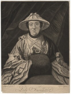 Anne Franks (née Day), Lady Fenoulhet, by Richard Purcell (H. Fowler, Charles or Philip Corbutt), after  Sir Joshua Reynolds - NPG D1940