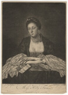 Kitty Fisher, by Richard Houston, after  Sir Joshua Reynolds - NPG D1952