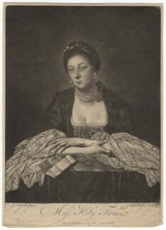 Kitty Fisher, by Richard Houston, after  Sir Joshua Reynolds,  - NPG D1952 - © National Portrait Gallery, London