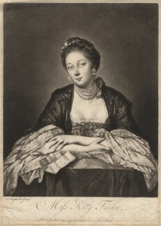 Kitty Fisher, by Richard Purcell (H. Fowler, Charles or Philip Corbutt), after  Sir Joshua Reynolds - NPG D1953