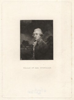William Wentworth Fitzwilliam, 2nd Earl Fitzwilliam, by Samuel William Reynolds, after  Sir Joshua Reynolds - NPG D1956