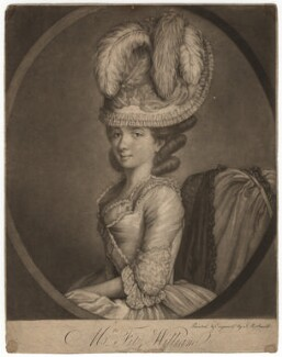 Mrs Fitzwilliam, by John Raphael Smith, published 1777 - NPG D1958 - © National Portrait Gallery, London