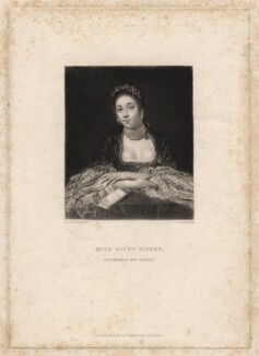 Kitty Fisher, by Samuel William Reynolds, after  Sir Joshua Reynolds, published 1834 - NPG D1962 - © National Portrait Gallery, London