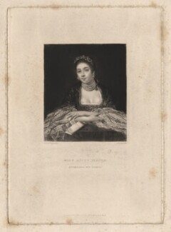 Kitty Fisher, by Samuel William Reynolds, after  Sir Joshua Reynolds, published 1834 - NPG D1963 - © National Portrait Gallery, London