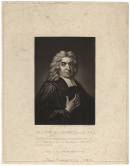 John Flamsteed, by George Dawe, after  Thomas Gibson - NPG D1967