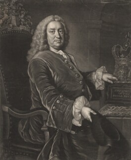 Martin Folkes, by James Macardell, after  Thomas Hudson - NPG D1979