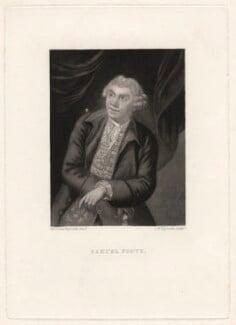 Samuel Foote, by Samuel William Reynolds, after  Sir Joshua Reynolds - NPG D1982