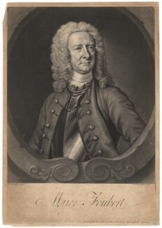 Henry Foubert, by and sold by John Faber Jr, after  Thomas Hudson, 1740 - NPG D1993 - © National Portrait Gallery, London