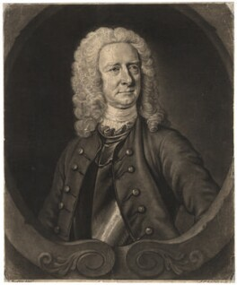 Henry Foubert, by John Faber Jr, after  Thomas Hudson, 1740 - NPG D1994 - © National Portrait Gallery, London