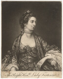 Ann Fortescue (née Campbell), Lady Fortescue, after Francis Cotes - NPG D1998