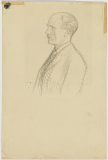 (George) Gilbert Aimé Murray, by William Rothenstein - NPG D200
