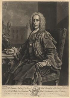 Duncan Forbes of Culloden, by John Faber Jr, sold by  Christopher Seton, after  Jeremiah Davison, 1748 - NPG D2001 - © National Portrait Gallery, London