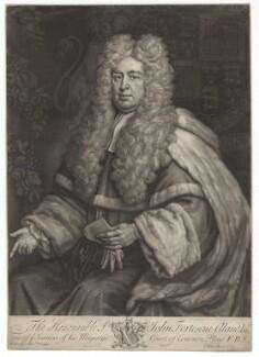 John Fortescue-Aland, Baron Fortescue of Credan, by John Faber Jr, after  Sir Godfrey Kneller, Bt, 1733 - NPG D2002 - © National Portrait Gallery, London