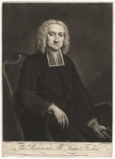 James Foster, by Peter van Bleeck, after  James Wills, circa 1750-1775 - NPG D2003 - © National Portrait Gallery, London