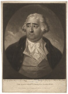 Charles James Fox, by John Young, after  Karl Anton Hickel - NPG D2009