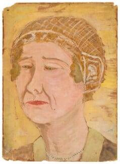 Alda von Anrep, by Ray Strachey - NPG D201