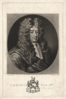 Sir Stephen Fox, by Richard Earlom, after  John James Backer - NPG D2012