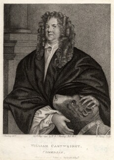 William Cartwright, by R. Clamp, published by  E. & S. Harding, after  Silvester (Sylvester) Harding, possibly after  John Greenhill - NPG D2022