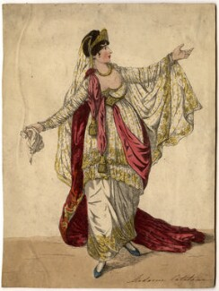 Angelica Catalani ('Madame Catalani in Semiramide'), by and published by Robert Dighton - NPG D2030