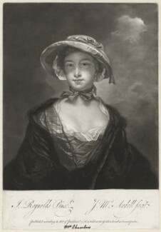 Catherine (née More), Lady Chambers, by James Macardell, after  Sir Joshua Reynolds - NPG D2040