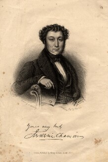 Frederic Chamier, by Samuel Freeman, published by  Henry Colburn, after  L. Schmitz - NPG D2042