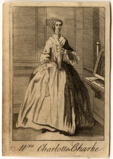Charlotte Charke (née Cibber), after Unknown artist - NPG D2051