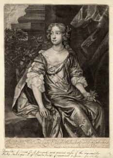 Elizabeth Stanhope (née Butler), Countess of Chesterfield, published by Thomas Bowles Jr, after  Sir Peter Lely - NPG D2065