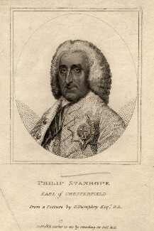 Philip Dormer Stanhope, 4th Earl of Chesterfield, after Ozias Humphry, published 1801 - NPG D2067 - © National Portrait Gallery, London
