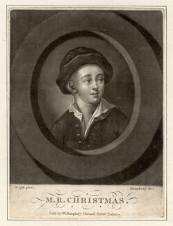 M.R. Christmas, by and sold by William Humphrey, after  M.R. Christmas - NPG D2073