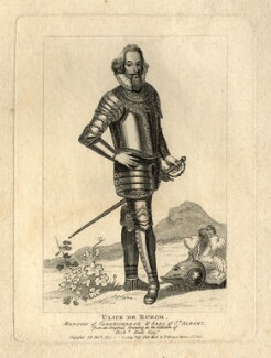 Ulick de Burgh, 1st Marquess of Clanricarde, after Unknown artist - NPG D2076
