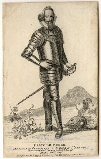 Ulick de Burgh, 1st Marquess of Clanricarde, after Unknown artist - NPG D2077