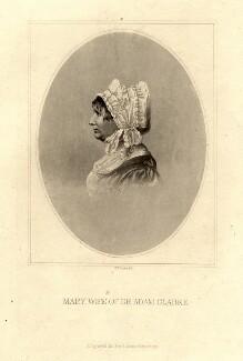 Mary Clarke, by F.E. Jones - NPG D2084