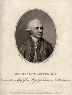 Sir Henry Clinton, by Francesco Bartolozzi, after  John Smart - NPG D2086