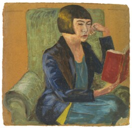 Janie Bussy, by Rachel Pearsall Conn ('Ray') Strachey (née Costelloe), late 1920s or early 1930s - NPG D209 - © National Portrait Gallery, London