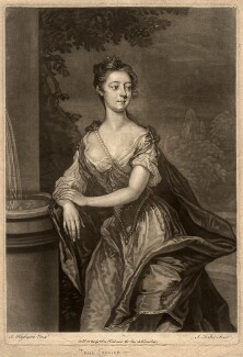 Probably Jane Collier, by John Faber Jr, after  Joseph Highmore - NPG D2094
