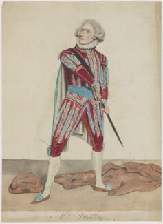 James Middleton as Salisbury in 'The Countess of Salisbury', probably by Samuel De Wilde - NPG D21