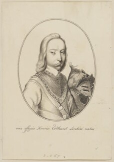 Henry Colthurst, after Wenceslaus Hollar - NPG D2116