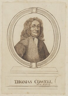 Thomas Cowell, by Unknown artist - NPG D2120